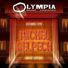 "2 CD ""DELPECH MICHEL - Olympia 1992""   NEUF SOUS BLISTER"
