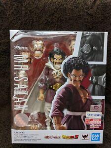 Bandai S.H. Figuarts Dragon Ball Z Mr. Satan Hercule Exclusive New! USA