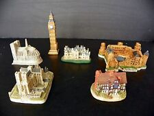 Collection of Miniature reproductions of famous European Landmarks