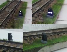 FERRMODEL 206 - FS segnale basso marmotta a tre luci funzionanti, scala H0