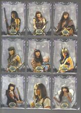 Xena Beauty & the Brawn 72 card base set from rittenhouse archives 2002