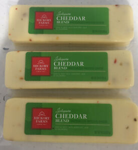 Hickory Farms Jalapeno Cheddar Blend Pasteurized Process Cheese (Pack of 3)