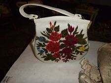 Vintage Unused 1970's Flower Sequin Purse from The Hubb in Steubenville, Ohio