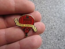 VINTAGE COMMUNITY COFFEE STATE US NATIONALS BATON ROUGE LA HOT AIR BALLOON PIN