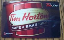 Rare Collectible Gift Card NO CASH VALUE TIM HORTON Coffee Cup '14 New Bake shop