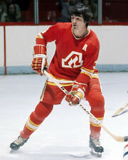 Pat Quinn - Atlanta Flames  8x10 color photo
