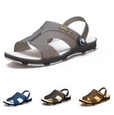 Men Cut out Strap Non-slip Sports Flat Non-slip Summer Slingbacks Sandals Shoe B