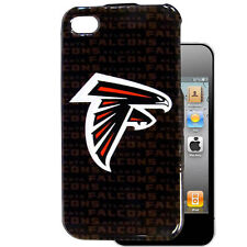 NFL Atlanta Falcons iPhone 4 4s Hard Case Mobile Phone Skin Cover Shell