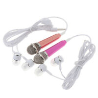 1Pc 3.5mm With Earphone Stereo Mic Audio Microphone For Mobile Phone AccessoriJC