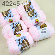 Sale 6Balls X 50gr Chunky Cotton Hand Knitting Yarn Smooth Special Soft Thick 45
