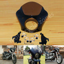 Gauntlet Fairing Black Trigger Lock Mount Kit For Harley Sportster 1200 883 USA