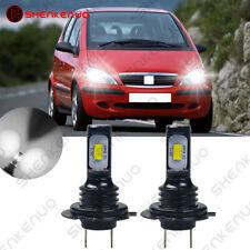 Für MERCEDES-BENZ A-Klasse W168 LED Lampen Car Scheinwerfer Birnen Weiß 6000K 2X