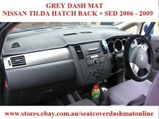 DASH MAT, DASHMAT, DASHBOARD COVER FIT  NISSAN TILDA 2006-2009, GREY