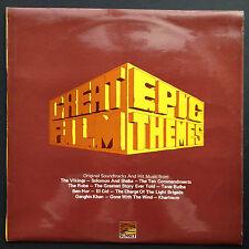 Gran película épica temas Lp 1971 Ben-Hur Jartum el Cid Bata diez mandamientos UK
