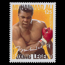 MUHAMMAD ALI WORLD HEAVYWEIGHT BOXING CHAMPION SUPERB MNH