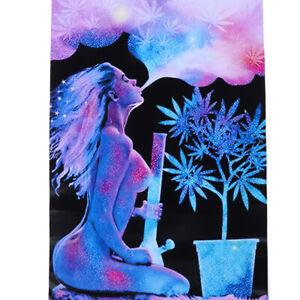 Matte Cannabliss Sexy Gras Blacklight Poster 12.5X15.7 INCH RBE odSJCA