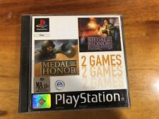 MOH & MOH Underground - Medal of Honor 2 games -Playstation 1: PS1– VG Complete