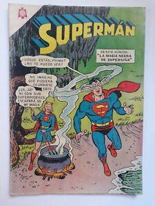 SUPERMAN #545 - ORIGINAL COMIC IN SPANISH - MEXICO - NOVARO