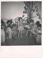 Spectacle c. 1950 - Théâtre Mise en Scène Guerriers Africains - NV 1193