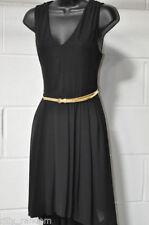 Vestiti da donna formale nero senza maniche