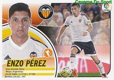 09A ENZO PEREZ ARGENTINA VALENCIA.CF CD.Godoy Cruz STICKER LIGA 2017 PANINI
