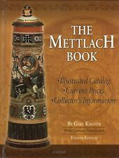 New, The Mettlach Book, 4th Ed. - Illustrated Catalog, Prices, Collecting