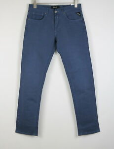 RRP€139 REPLAY GROVER MA972 Men W36/L30 Straight Fit Thin Stretch Jeans 21179*