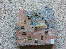 Pendule sur plaque de marbre Décoratif vintage (6)