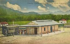 colombia, SANTA MARTA, Estacion Central del Ferrocarril, Station Train (1910s)