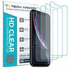 Tech Armor  HD Clear Film Screen Protector for Apple iPhone Xr [4-Pack]