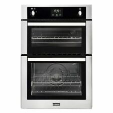 Stoves BI900G Built in 60cm Wide Gas Double Oven Stainless Steel Tower Unit