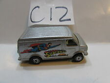 CORGI JUNIORS CHEVROLET U.S VAN - SUPERMAN  LOOSE MADE IN GR. BRITAIN