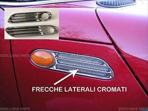 MINI ONE COOPER S D R50 R52 R53 FRECCE LATERALI CROMATE CHROM