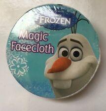 Disney Frozen *olaf* Magic Facecloth Flannel Bath Shower Design Ideal Gift