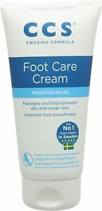 CCS Professional Foot Care Cream, 175 ml, 10 Percent Urea, Softens