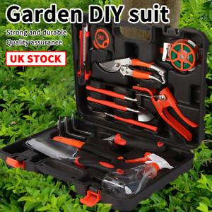14pcs Gardening Tools Set Gift Garden Hand Tool Kit DIY Non Slip Ergonomic ZD