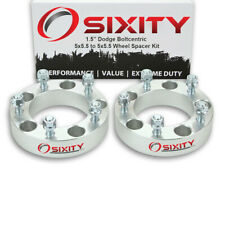 """2pc 1.5"""" Wheel Spacers for Dodge Ram 1500 2500 3500 Adapters Lugs 5x5.5 sa"""