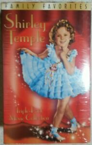 Shirley Temple Gift Set (VHS, 2000, 3-Tape Set) NEW