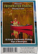 Discover Freshwater Fishing Playing Cards