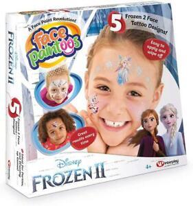 Interplay Disney Frozen 2 Face Paintoos Creative Tattoo Fun Children Toy