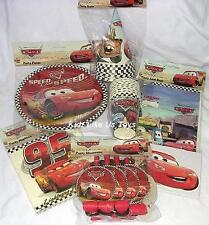 ~ Disney Cars - COMPLETE PARTY PACK FOR 8 - 64 Pieces
