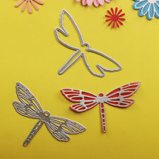 3D Dragonfly Metal Cutting Dies embossing  paper Cards border punch DIY Stencils