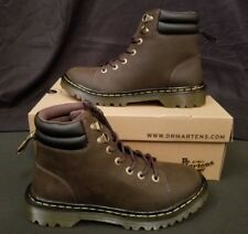 Dr Martens Womens Size 8 Faora Dark Brown Ankle Boots Shoes 22949201