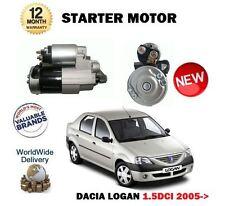 FOR DACIA LOGAN 1.5 DCI 65BHP 2005--> NEW STARTER MOTOR UNIT