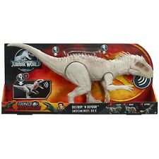 Mattel - Jurassic World Fressender Kampfaction Indominus Rex - Dino Dinosaurier