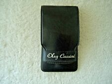 """Vintage Oleg Cassini 6 Piece Travel Manicure Set In Case """" Great Collectible """""""