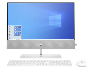 """HP 27-d0027na 27"""" QHD 1440p All-in-One Desktop PC i7-10700T 16GB 1TB 3F1V3EA"""