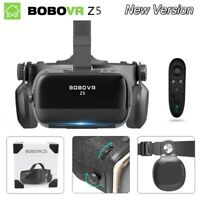 Virtual Reality Headset 120° VR Casque 3D Glasses Helmet For iPhone Android