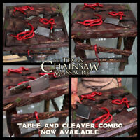 1/6 Leatherface Table and Cleaver for Hot Toys Sideshow ThreeZero Horror Custom