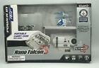 Silverlit Nano Falcon XS Remote Control Helicopter Blue 3 Channel RC Model - New